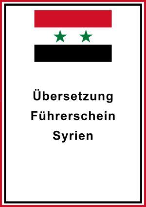 syrien fuehrerschein