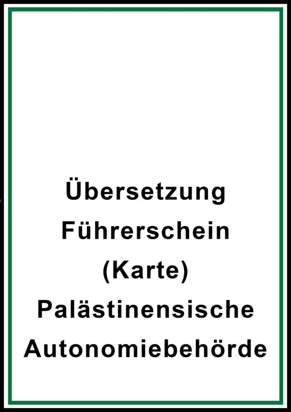 fuehrerschein