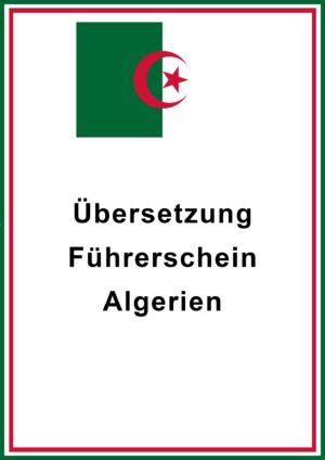 Führerschein Algerien