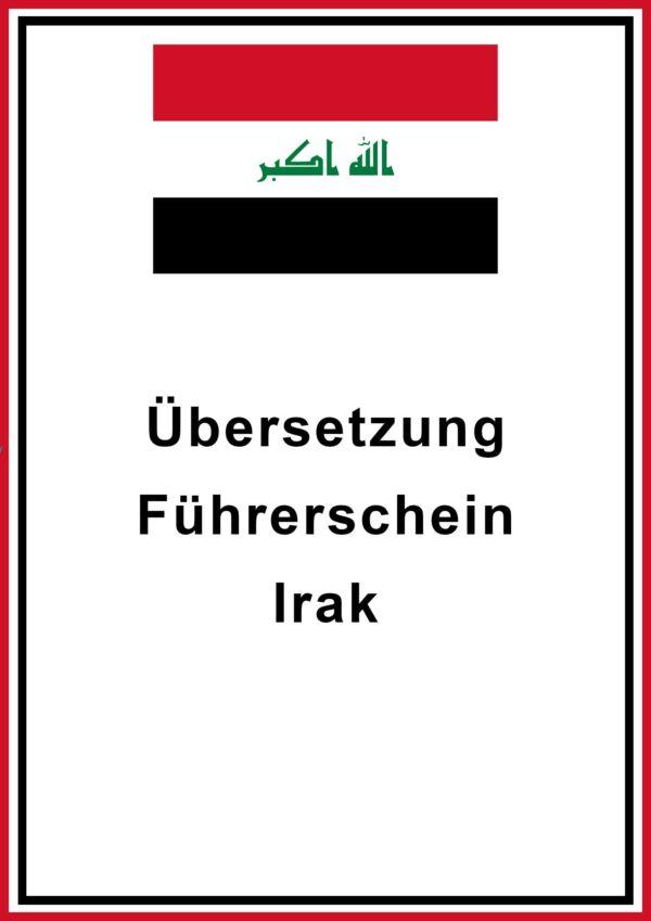 Führerschein Irak