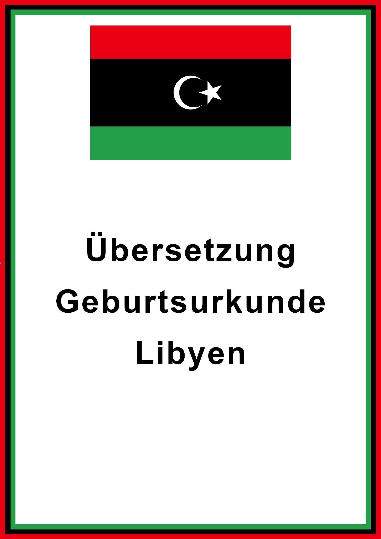 libyen geburtsurkunde