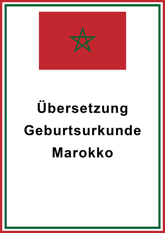 marokko-geburtsurkunde