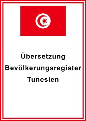 tunesien bevoelkerungsregister