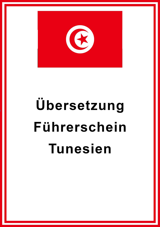 tunesien fuehrerschein